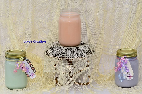 16 oz Lotion Candle-Burn As A Candle/Apply As A Lotion!