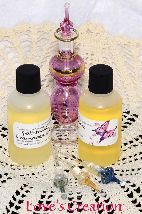 5 Fragrance Oils-2 oz Great For Candles & More