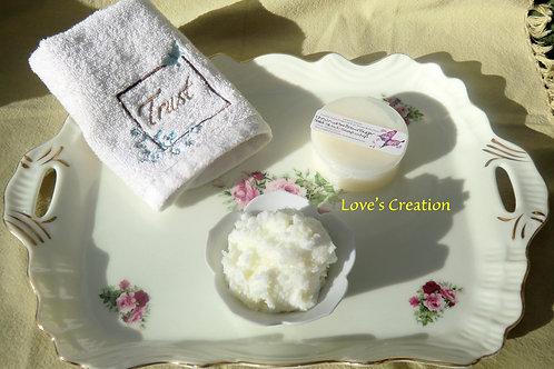 3 oz Epsom Salt Foaming Bath Whip Scrub