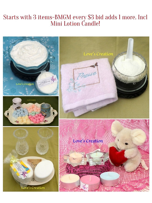 Lotion Candle Gift Set-You Choose Items