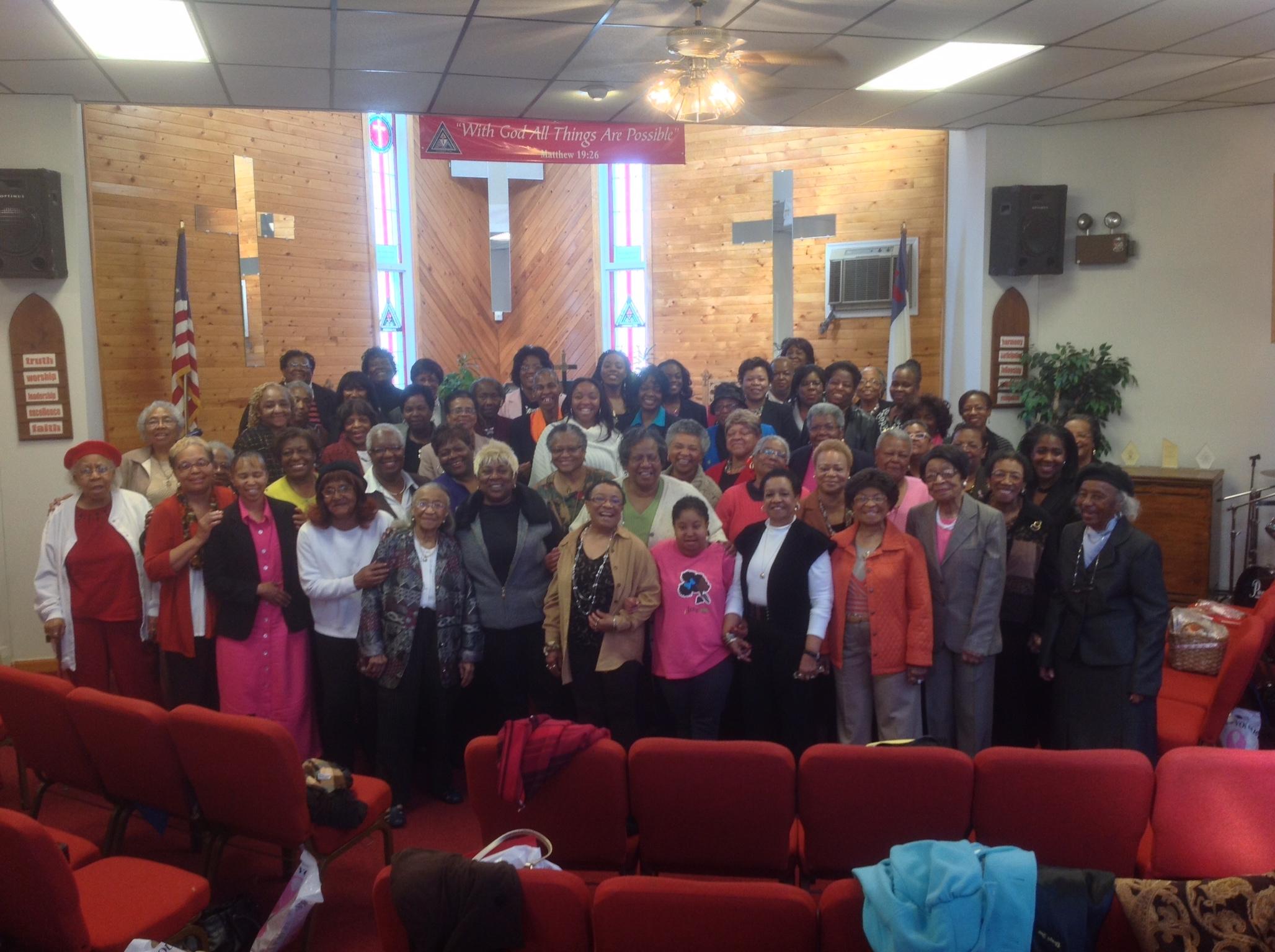 P-ESD women's retreat