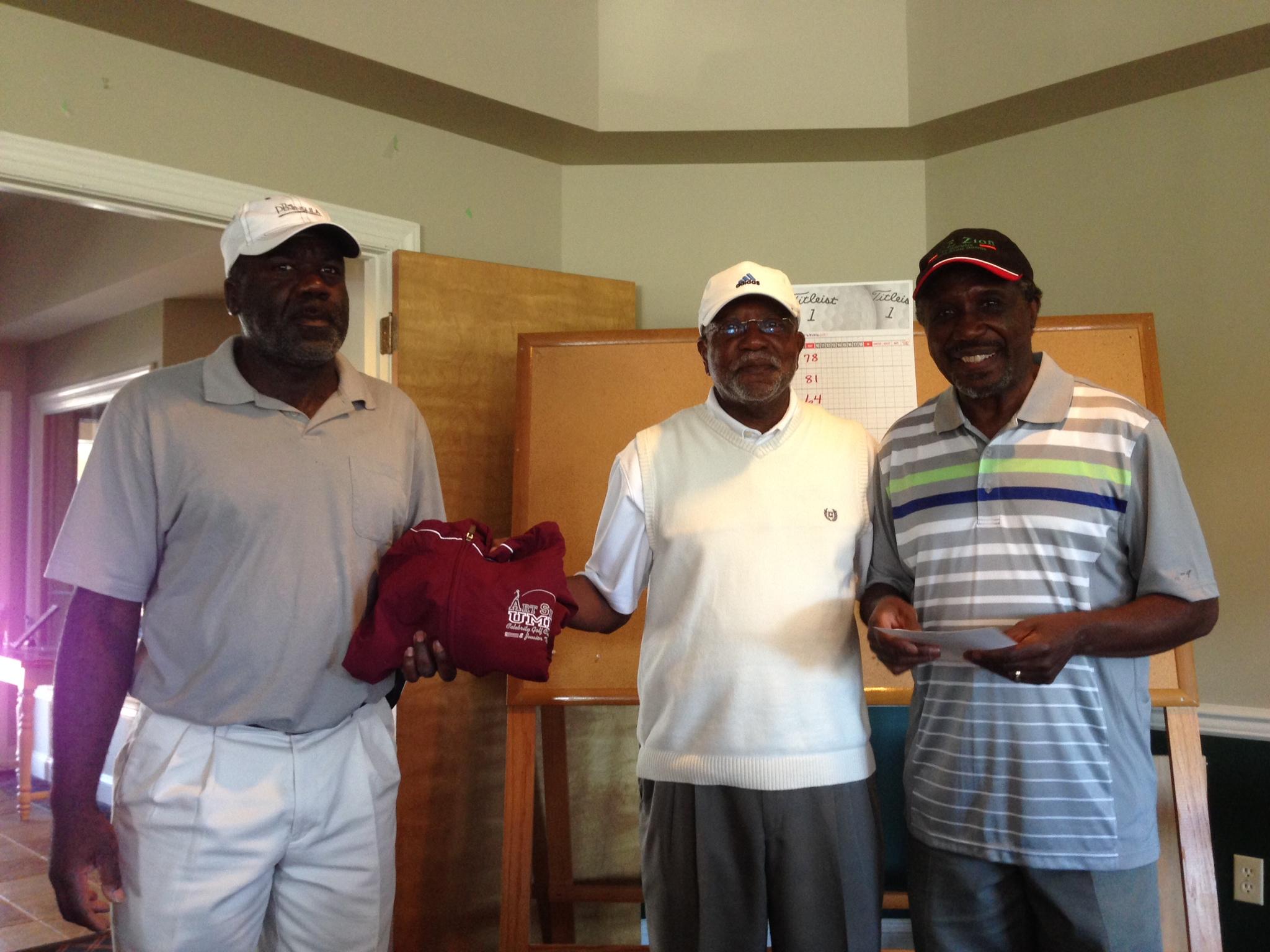 Rev. Copeland, Rev. McNeil & guest