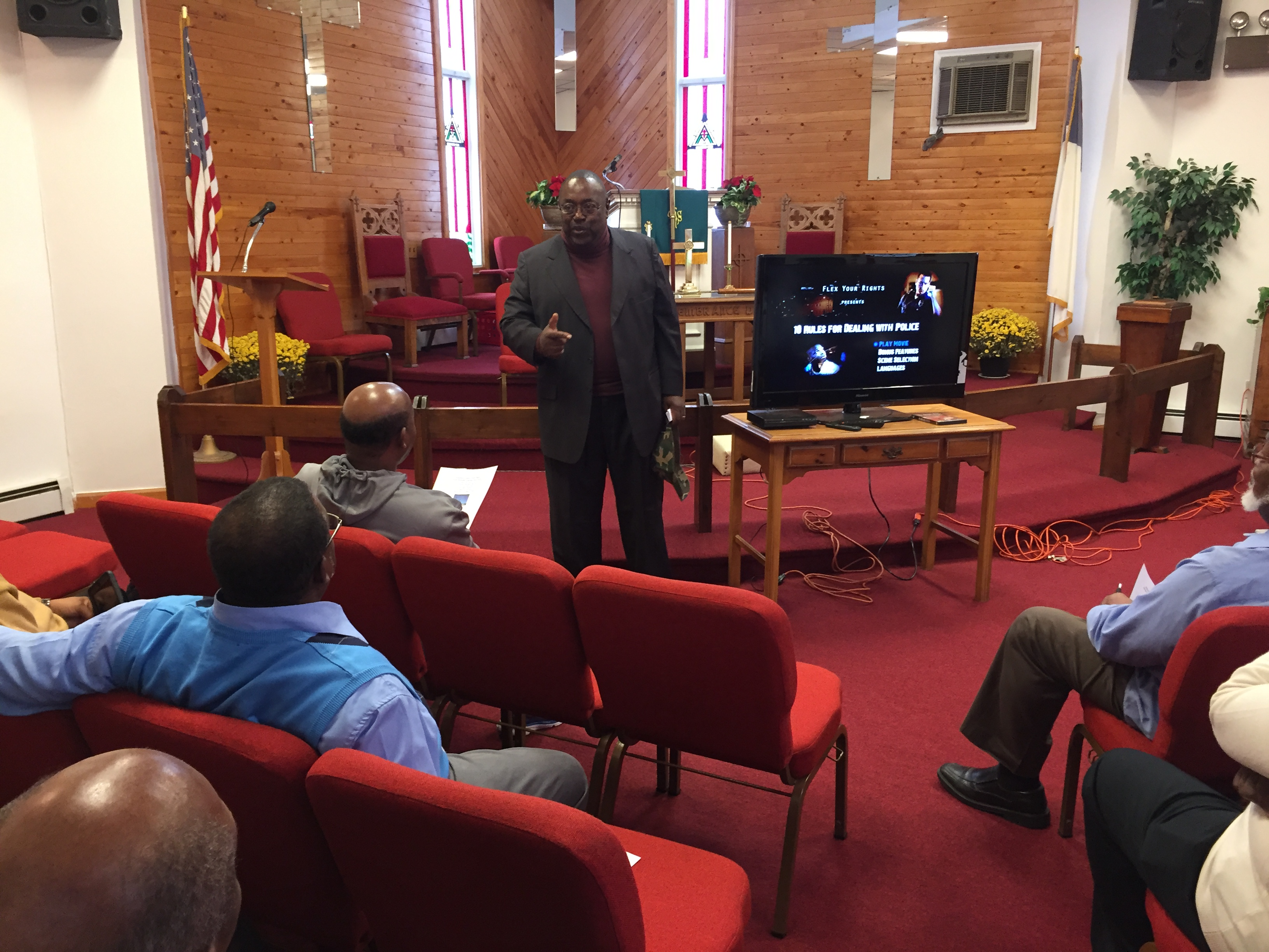 Presiding Elder Kelly