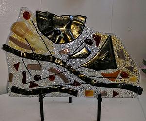 fused glass, art
