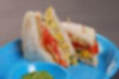 Corn tomato Sandwich