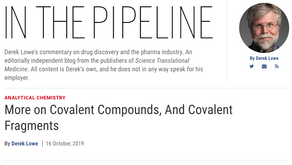In the Pipeline – Covalent Fragments & Inhibitors