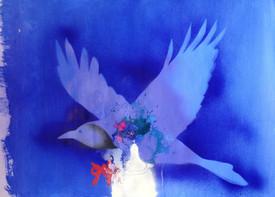 Blue Raven White Pantheon