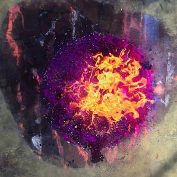 Burning Purple Heart