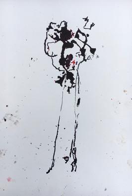 """Big Tree I, ink on paper, 16x11"""""""