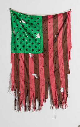 Afro American Flag by David Hammons