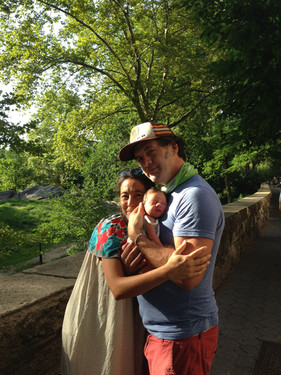 Alina, Gann, and Paloma : 3 day new family : all rising