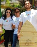 Esta es la tabla de surf que el equipo d