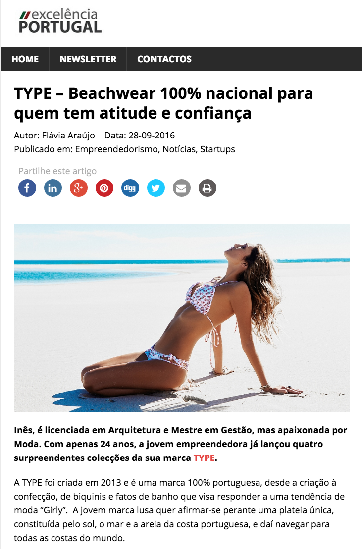 Excelência Portugal Setembro 2016