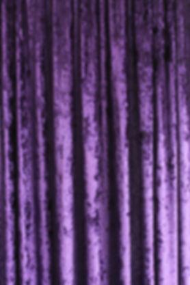 Purple Crushed Velvet Drape