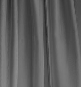 Grey Sheer Drape