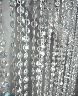 Crystal Curtain Drape