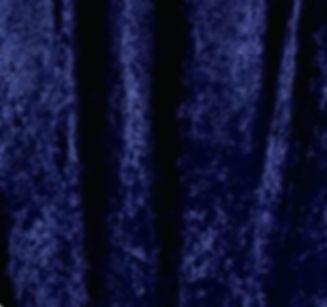 Navy Blue Crushed Velvet Drape