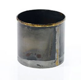 Smoked Metal Votive