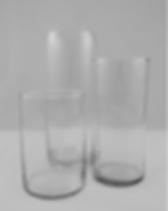 Clear Cylinder Vases