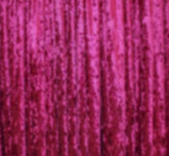 Fuchsia Crushed Velvet Drape