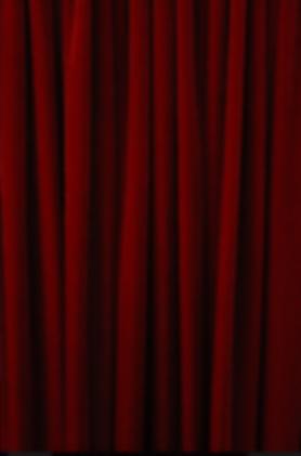 Red Velvet Drape