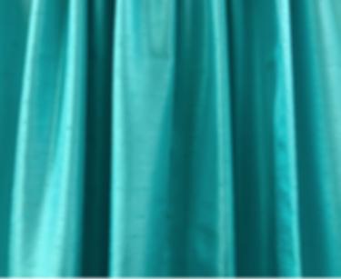 Aqua Blue Shantung Drape