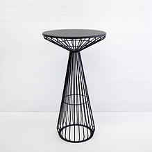 Cocktail bar table - black.png