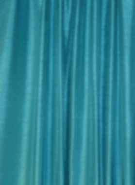 Teal Blue Shantung Drape