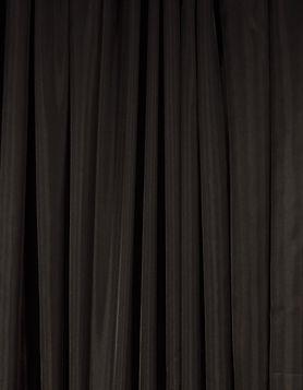 Black Sheer Drape
