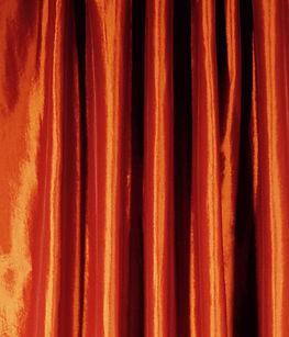 Copper Taffeta Drape