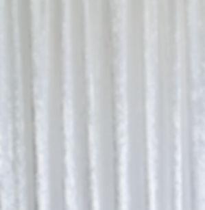 White Crushed Velvet Drape
