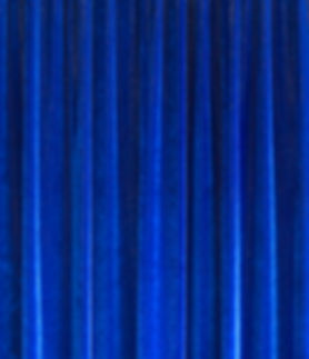 Blue Velvet Drape