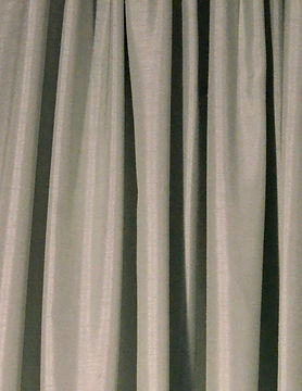 Mint Green Shantung Drape