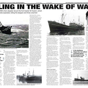 Trawling in the Wake of Wartime