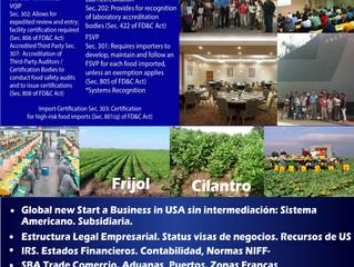 Entrenamiento y Conferencias en USA Vs. Guerra Comercial que afecta America Latina sin Intermediació