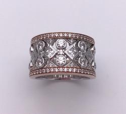 Diamond rings by Lisa D Jewels