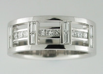 Gents Diamond Dress Ring