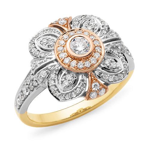 """""""Gracie"""" Diamond Ring"""