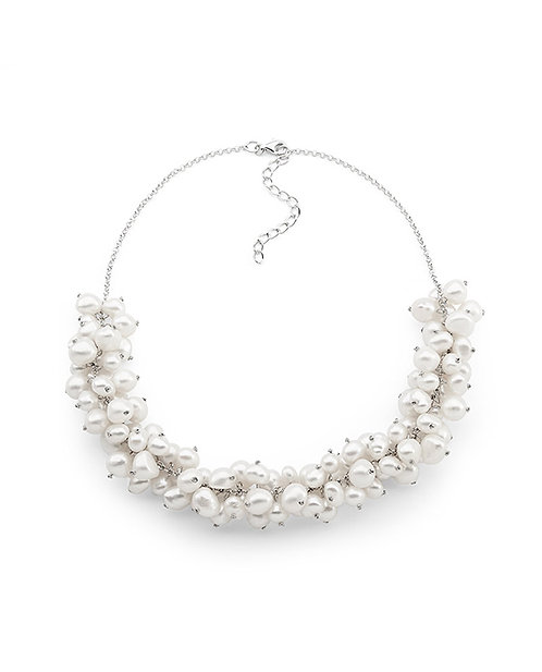 """""""To the Races"""" Keshi Pearl Necklace"""