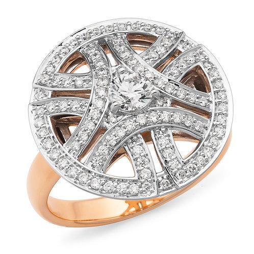 """Stargazer"" Diamond Ring"