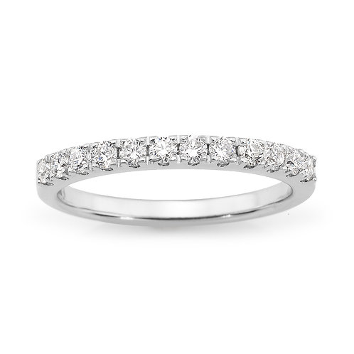 """""""Angel"""" Diamond Wedding Band"""