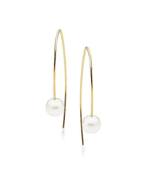 """""""Cassia"""" Freshwater Pearl Drop Earrings"""