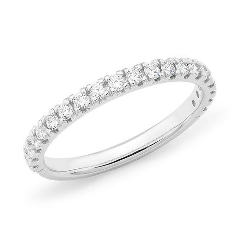 """Queen Lillian"" Diamond Wedding Band"