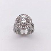 """Rapture""Engagement Ring"