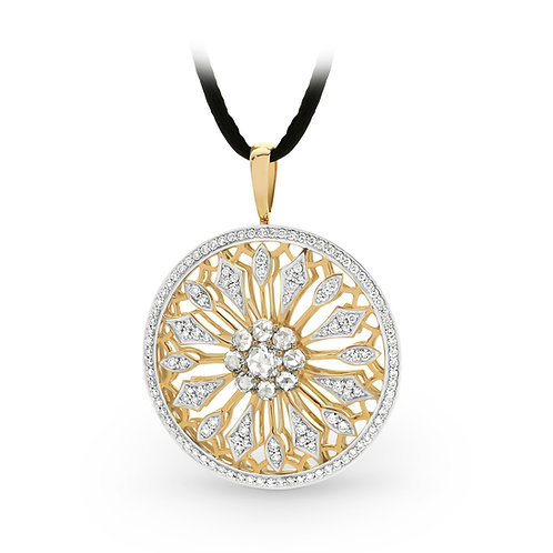 """Chrysa"" Diamond Pendant"