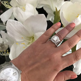 Rapture Engagement Ring and Wedding Bands
