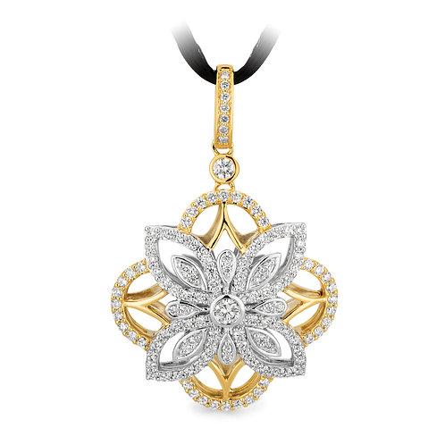"""""""Pandora"""" Diamond Pendant"""