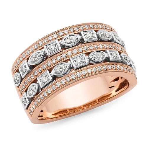 """Callista"" Brilliant Cut Diamond Dress Ring"