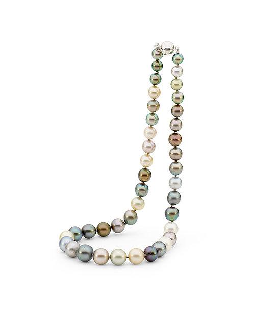 """Spice"" Multicoloured Tahitian Pearl Strand"