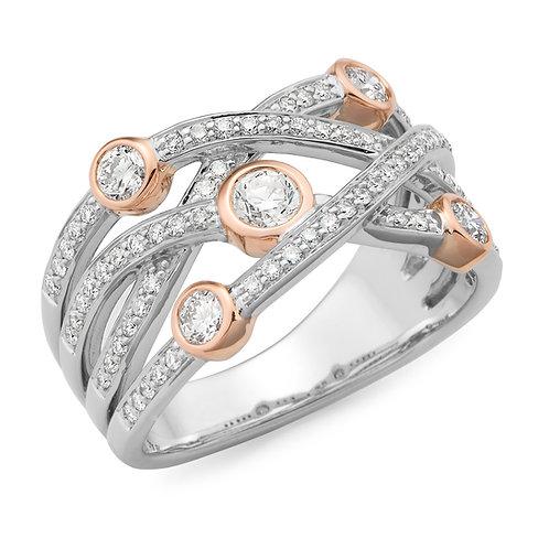 """""""Scarlett"""" Diamond Ring"""